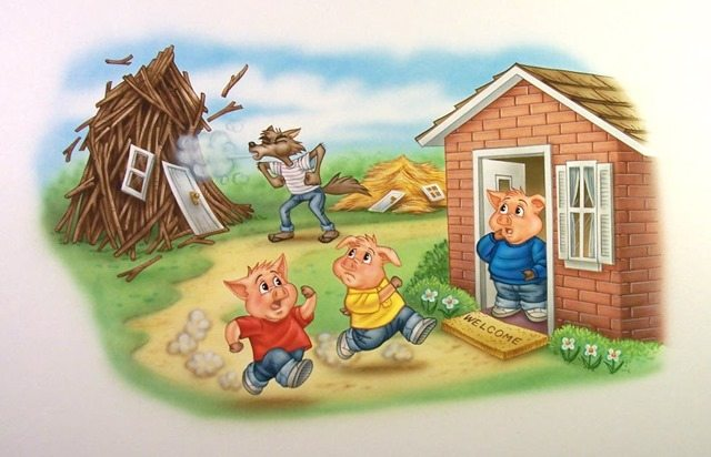 Three little pigs 3